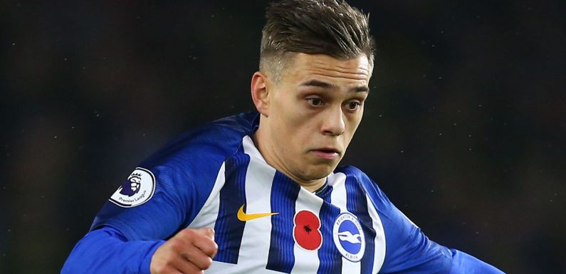 Leandro Trossard back for Brighton but Aaron Connolly still struggling with injury