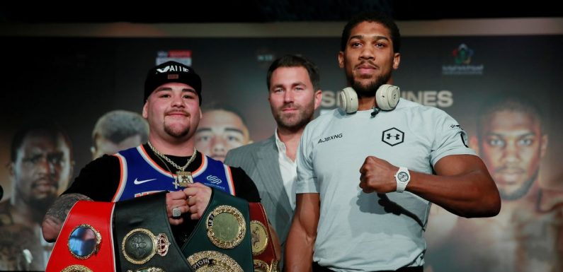 Anthony Joshua admits he won't celebrate if he regains titles from Andy Ruiz