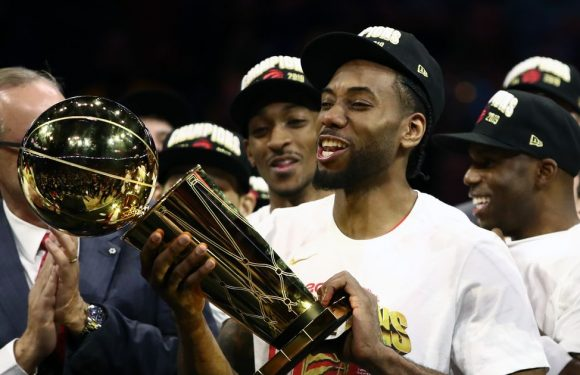 Raptors told to retire Kawhi Leonard's number by Clippers coach Doc Rivers