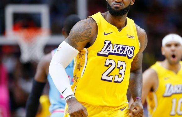 LeBron James issues warning to NBA rivals over Lakers' brilliant record