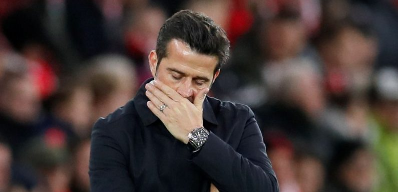 Everton fans desperate for Marco Silva sacking after Liverpool humiliation