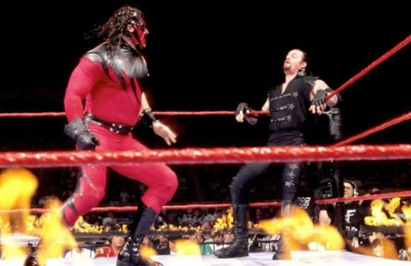 WWE legend Kane shares true story of how Undertaker set him on fire
