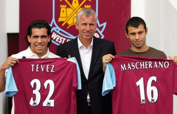 Alan Pardew reveals the Liverpool ace he wanted to sign before Tevez and Mascherano deals