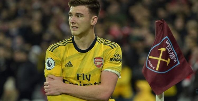 Arsenal suffer major injury blow as Gunners learn extent of Kieran Tierney shoulder issue