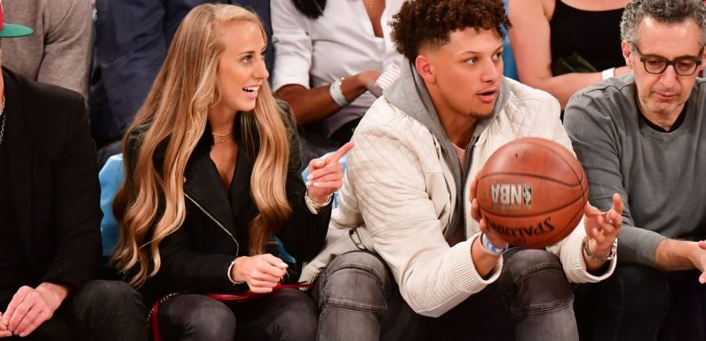 Patrick Mahomes' girlfriend slams Patriots fans with bold Tom Brady call