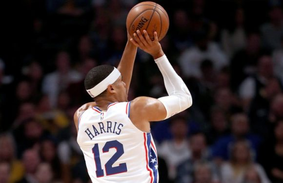 Harris paces Sixers to win over Raptors