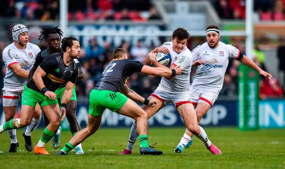 Champions Cup: Ulster look to make it three from three as they entertain Harlequins in Belfast
