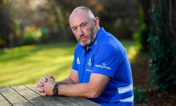 'There's a bit of pressure, but I'm here to perform' – Leinster assistant coach Robin McBryde