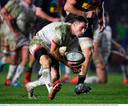 John Cooney inspires Ulster to impressive away win against Harelquins