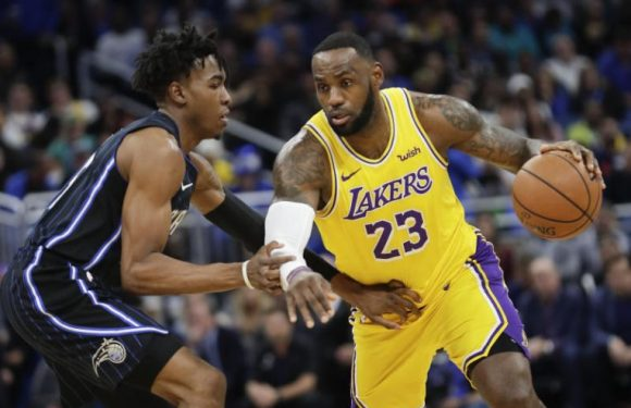 NBA: LeBron James lifts Los Angeles Lakers past Orlando Magic with 6th triple-double