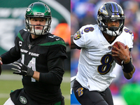 Four things to watch for in Jets-Ravens on 'TNF'