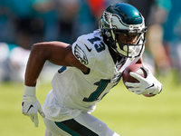 Roundup: Eagles Agholor, Howard out for Sunday