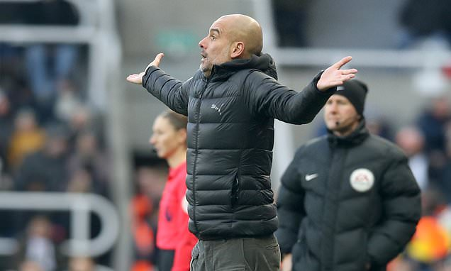 Manchester City boss Pep Guardiola rules out January signings