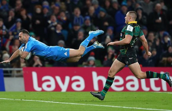 Leinster 50-21 Northampton: Hosts book Champions Cup knockout spot