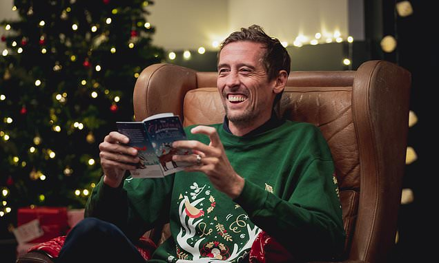 PETER CROUCH: Sorry Abbey… but I will miss football at Christmas