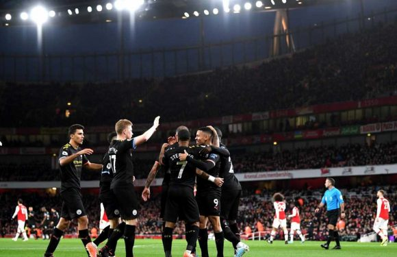Arsenal vs Man City result: Kevin De Bruyne produces masterclass as champions cruise past Gunners