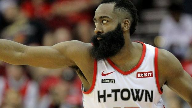 James Harden scores 60 points as Houston Rockets beat the Atlanta Hawks 158-111