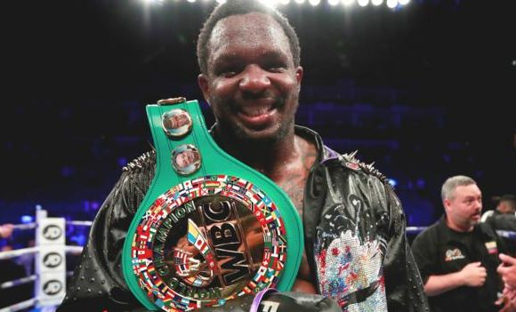 Dillian Whyte reinstated as WBC mandatory challenger and has suspension lifted
