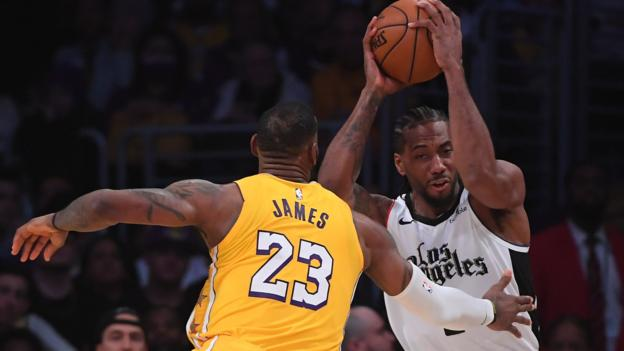 NBA: Clippers beat Lakers in Los Angeles and Enes Kanter plays outside the US