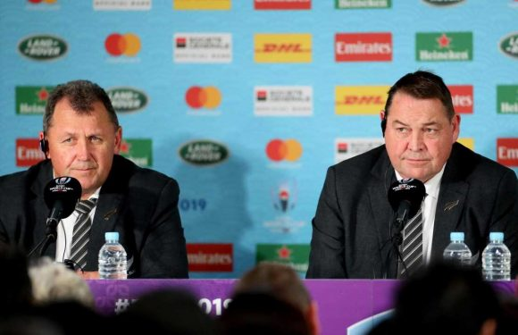 Ian Foster named New Zealand head coach after signing two-year deal to replace Steve Hansen