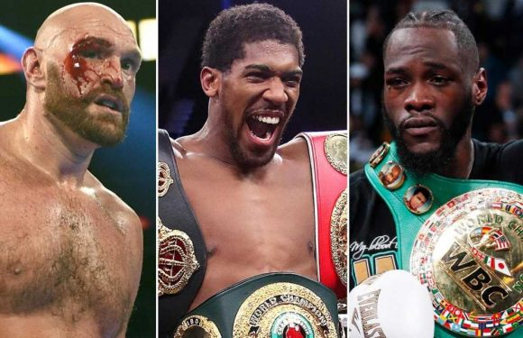 Anthony Joshua says Deontay Wilder and Tyson Fury fights 'have to happen in 2020'