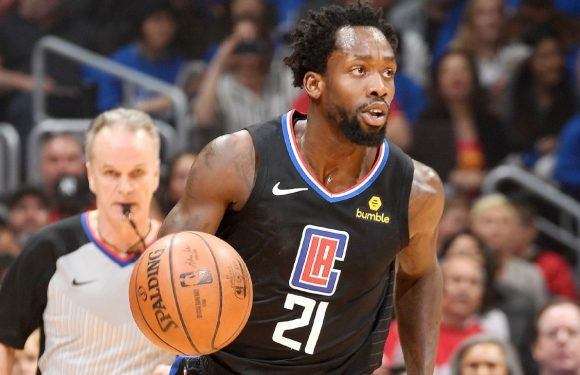 Beverley leaves Clippers-Raptors with concussion