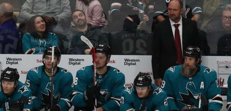 San Jose Sharks fire head coach Pete DeBoer after disappointing start to season