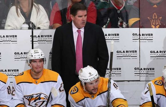 Nashville Predators head coach Peter Laviolette addresses allegations of sending players out to fight, hitting Ville Leino in head