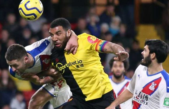 Watford 0-0 Crystal Place: Palace hold Hornets to goalless draw at Vicarage Road