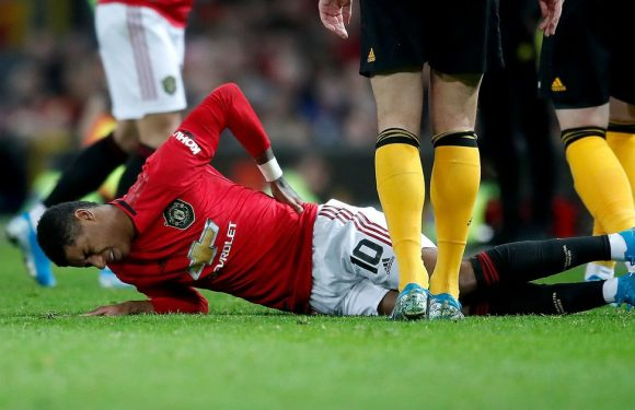 Man Utd fans savage Ole Gunnar Solskjaer after Marcus Rashford injury