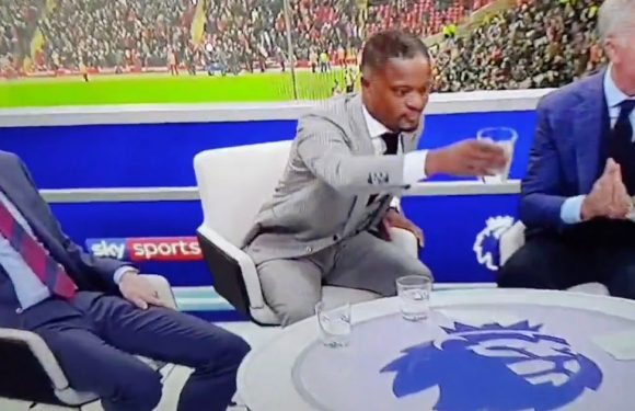 Patrice Evra's hilarious reaction to furious Graeme Souness rant on Sky Sports