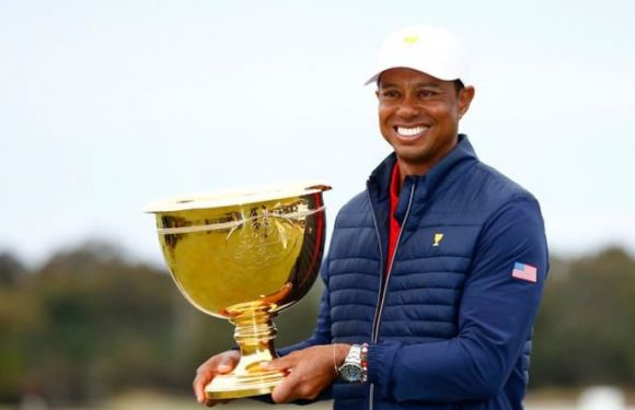 Tiger Woods discusses remaining as player captain for next Presidents Cup and Ryder Cup