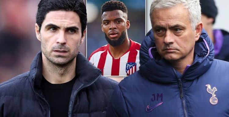 Arsenal and Tottenham make Thomas Lemar offers as Atletico Madrid open to transfer exit
