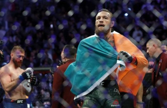 What Conor McGregor coach told the media off camera immediately after UFC 246 win