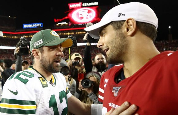 Packers fans find Jimmy Garoppolo tweet backing Aaron Rodgers before 49ers game