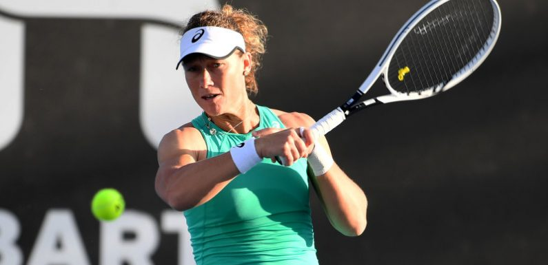 Stosur exits Hobart tennis early, Tomljanovic wins in Adelaide