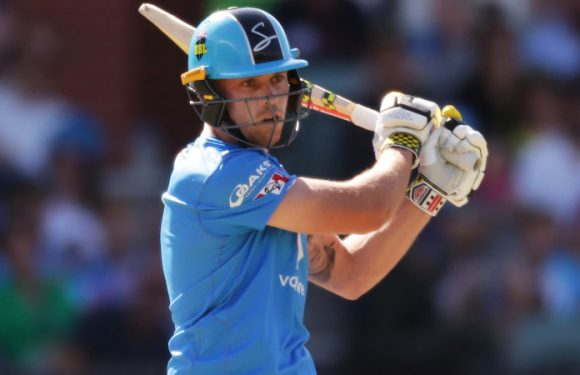 Strikers thump Heat by 10 wickets
