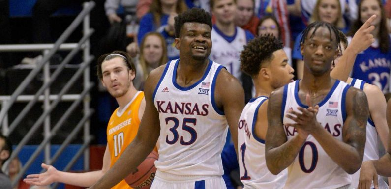 Shorthanded Kansas beats Tennessee in first game since brawl with Kansas State