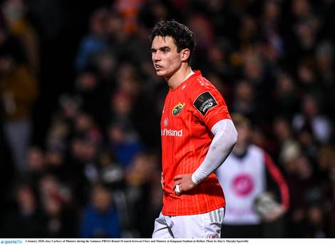 Neil Francis: 'It is time for Joey Carbery to change position – his career might depend on it'