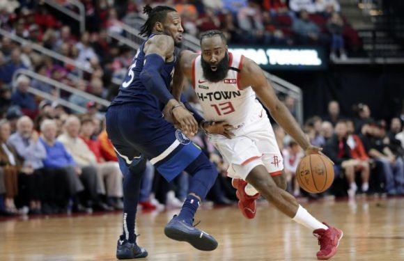 NBA: James Harden crosses 20,000-point mark, Lakers beat Thunder without James and Davis