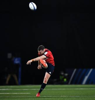 'I'd always be optimistic and I'm convinced we're still alive and kicking' – JJ Hanrahan not giving up on Munster