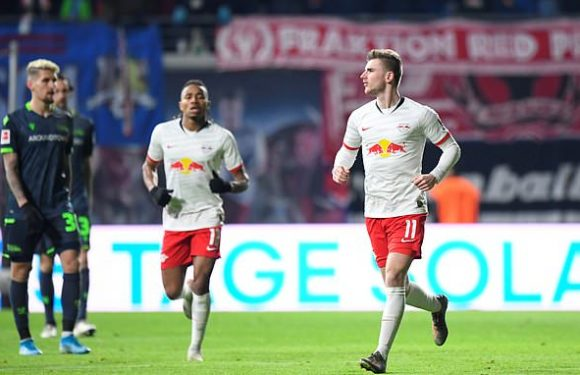RB Leipzig 3-1 Union Berlin: Leaders come from behind to go five clear