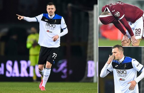 Atalanta smash SEVEN past Torino to leave home players in tears