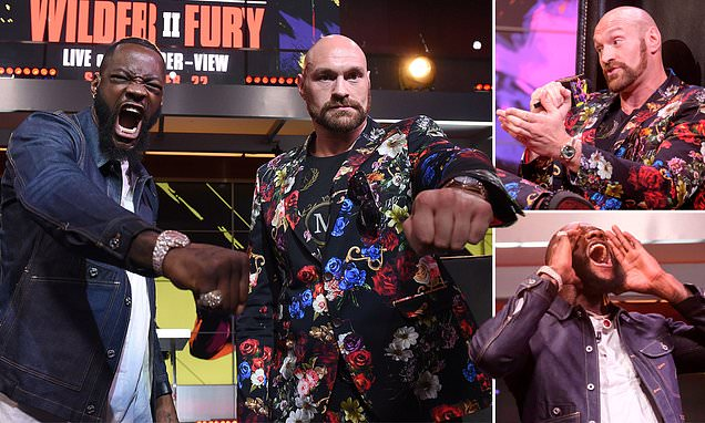 Fury full of admiration for Wilder as duo come face to face