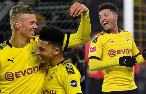 Jadon Sancho is showing why he is one of the most coveted players