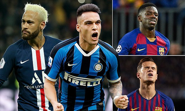 Barca's want for big name in summer is hampering striker efforts now
