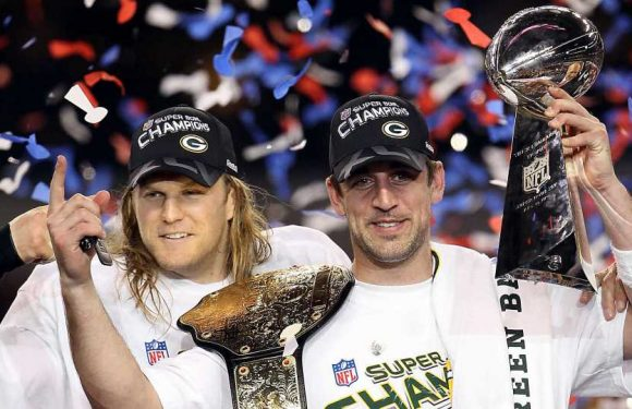 When is the last time the Chiefs, Packers, 49ers & Titans went to the Super Bowl?
