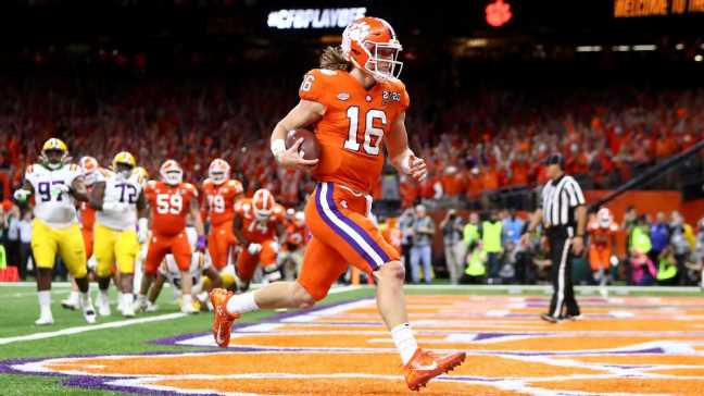 'We're going to be back': Clemson and Trevor Lawrence are ready for next season