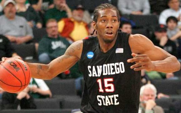 S. Diego State to retire 1st jersey: Kawhi's No. 15