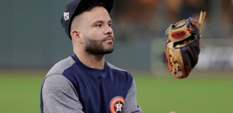 Astros' Altuve confident 'everything will be fine'